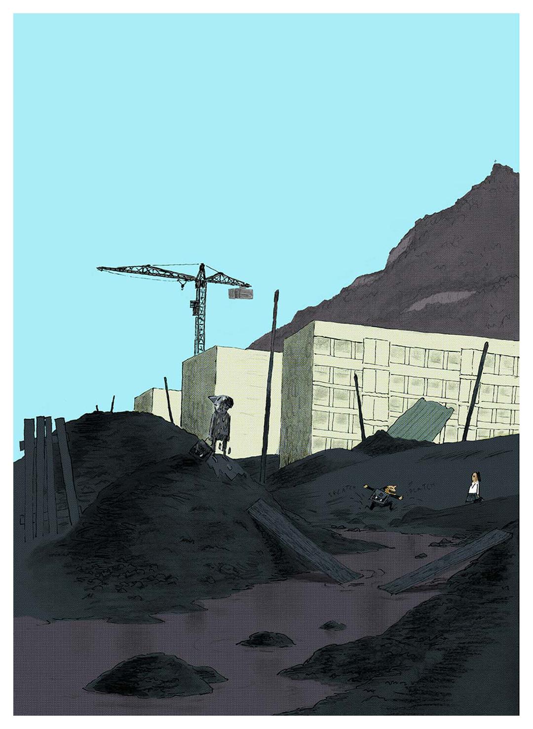 Illustration de Fabrice Turrier